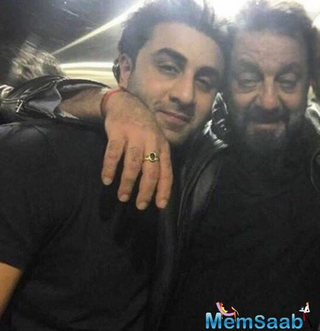 Ranbir Kapoor starrer Sanjay Dutt biopic has interested many for obvious reasons. Ranbir has carried off the look pretty well and there's nothing less than being awed over it.