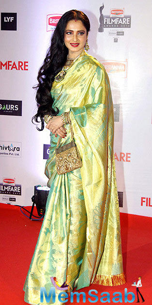 Asked who would he want to have as his showstopper in 2018, Sabyasachi said he wishes for Rekha to do it.