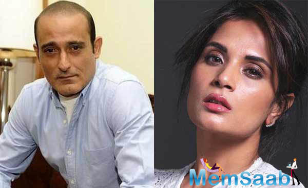 Akshaye Khanna and Richa Chadha are all set to come together for 'Section 375', a suspense drama, highlighting the misuse of rape laws in the country.