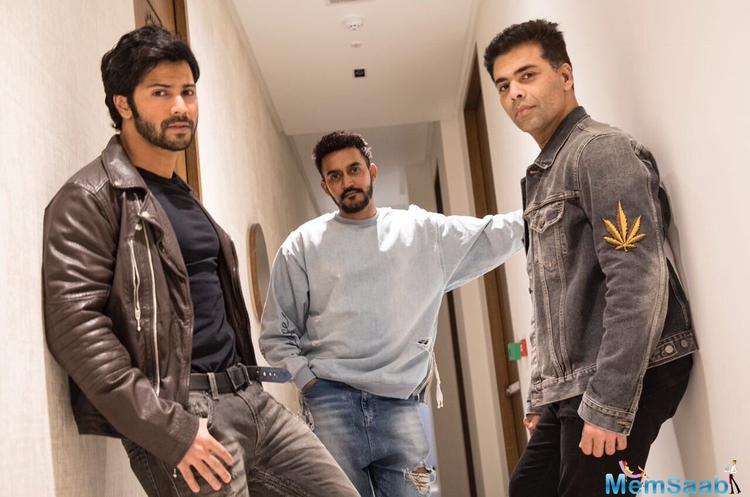 Karan Johar on Monday announced a new film starring Bollywood star Varun Dhawan.