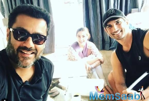 On the other hand, the first schedule of 'Kedarnath' has been completed.