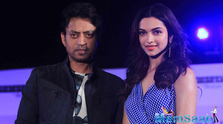 Last night, Vishal Bhardwaj announced on social media that the shoot of his Irrfan Khan and Deepika Padukone-starrer has been delayed.