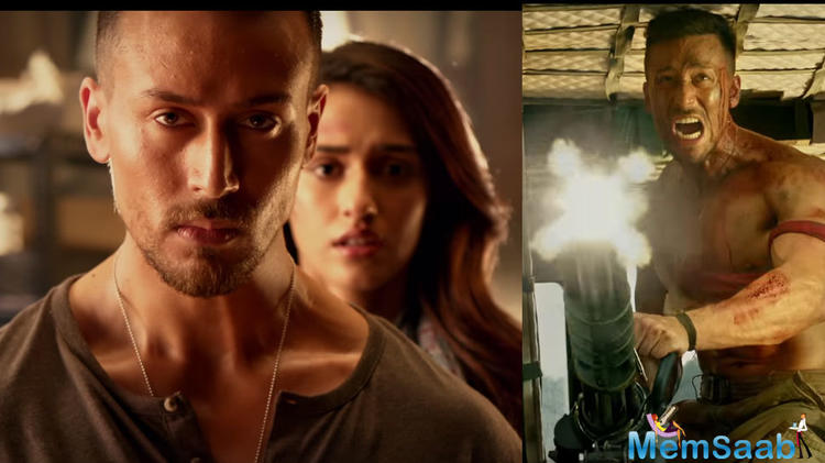 The Baaghi 2 trailer which was launched with over 200 Baaghis welcomed the Tiger Shroff and Disha Patani at Race Course who made a grand entry in a helicopter and then headed to PVR Lower Parel.