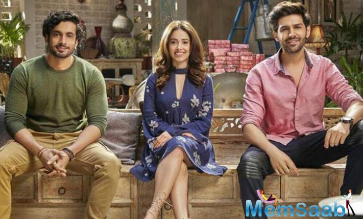 The 'Pyar Ka Punchnama' trio of director Luv Ranjan and actors Kartik Aaryan-Nushrat Bharucha is back and how.