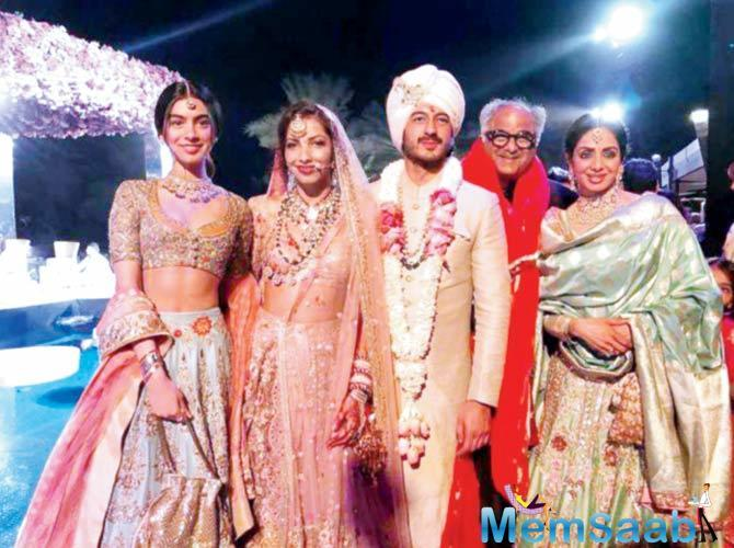 A source says, While Sridevi appeared healthy, should she have been feeling uneasy, she may have attributed it to the exhaustive wedding ceremonies.