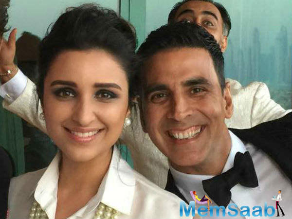 She also shared that the photograph was taken by actor Akshay Kumar.Moments later, she shared a video and wrote: