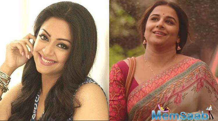 "Said Jyotika, ""I am a big Vidya (Balan) fan. I love her voice and command over Hindi, which is rare in Bollywood today."