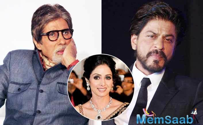 Just like us, the untimely demise of Sridevi has left the celebs too in deep shock.