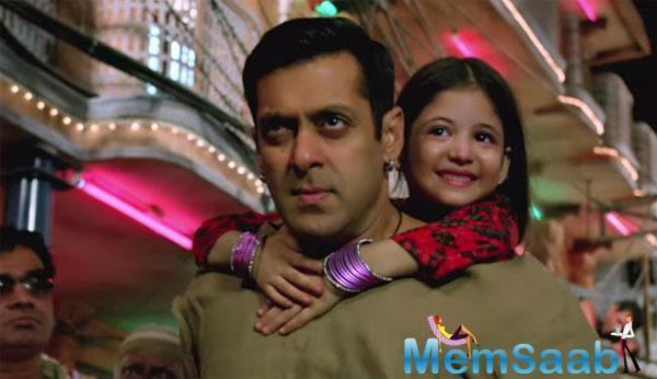 Bajrangi Bhaijaan is Salman Khan's first film to hit the screens in the country.