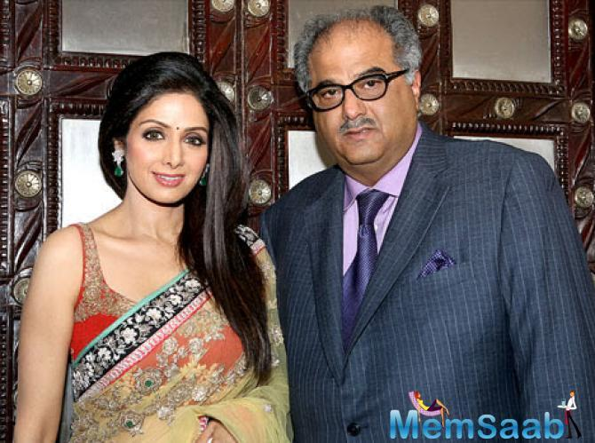 According to a source that a bereaved Boney intends to make a comprehensive documentary on the life of Sridevi.