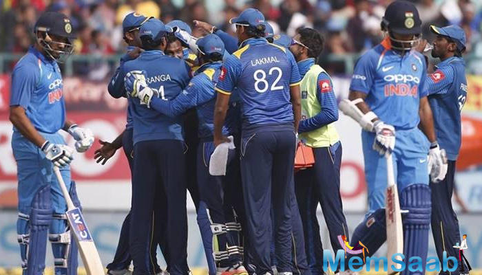 But Dinesh Chandimal and co fought back with pride as Danushka Gunathilaka and Kusal Perera soon changed gears and put the hosts in command in a matter of few overs.
