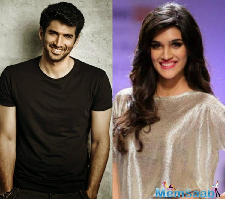 A report states that Kriti Sanon has given a verbal nod to the film, whereas, she is yet to sign on the dotted lines.