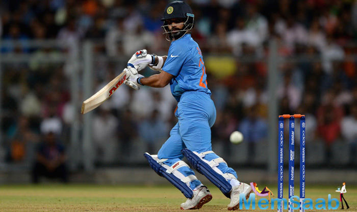 However, Suresh Raina and Shikhar Dhawan put up a 68-run stand after which the former departed for 28.