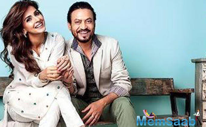 The Chinese authorities who choose their bouquet of films every year have been so impressed with the content of Hindi Medium that rather than the main poster.