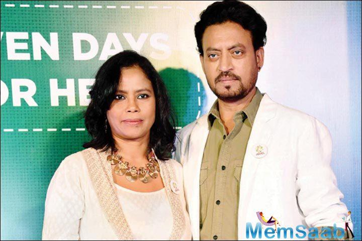 On the work front, Irrfan Khan's next release 'Blackmail' is reportedly scheduled to release on April 6.