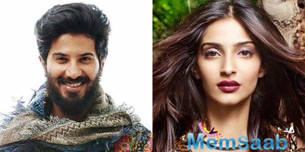 Sonam Kapoor had been confirmed for a film on the book 'The Zoya Factor', and now the makers have officially announced Sonam and Dulquer Salmaan as the lead actors in this one.