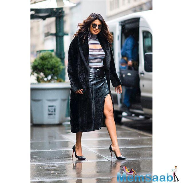 Bollywood's hottest export, Priyanka Chopra is currently busy shooting the third season of her popular American TV show, 'Quantico'.