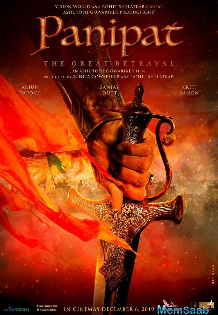 Ashutosh Gowariker has begun work on his next period venture, which is based on the Battle of Panipat, and stars Arjun Kapoor, Kriti Sanon and Sanjay Dutt.