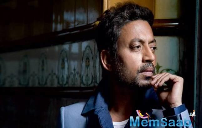 "Irrfan quoted Margaret Mitchell — ""Life's under no obligation to give us what we expect."""