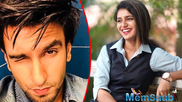 Few days later, news reports suggested that Priya has been cast for Ranveer Singh's 'Simmba', but the truth might be that she was never even in consideration for the project.