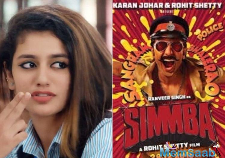 Priya Prakash Varrier caught everyone's attention and became instantly viral thanks to her expressions in 'Oru Adaar Love' song and teaser.