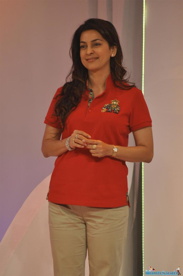 Since Juhi is a co-owner of the Indian Premier League (IPL) team Kolkata Knight Riders, she was asked about the cricket tournament's upcoming season.