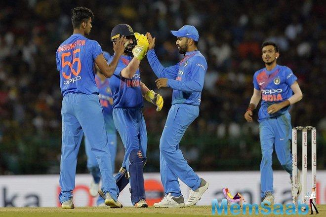 Manish Pandey (28 runs), too, played a very important role in the middle to help India chase the target.