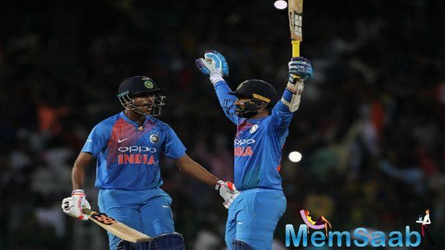 The match went down to the wire, with India needing 12 runs to win from the final over.