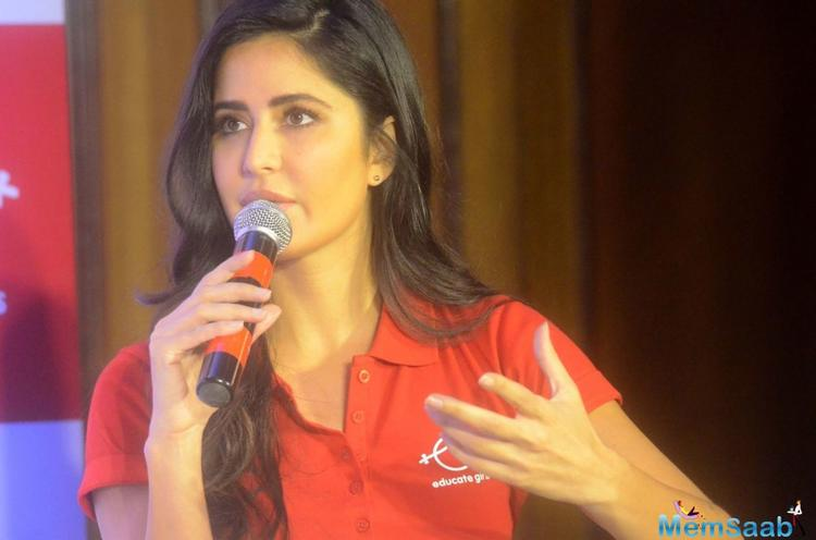 Katrina Kaif feels it's important for people to empower the women around them — an act, she says, she also partakes in actively.