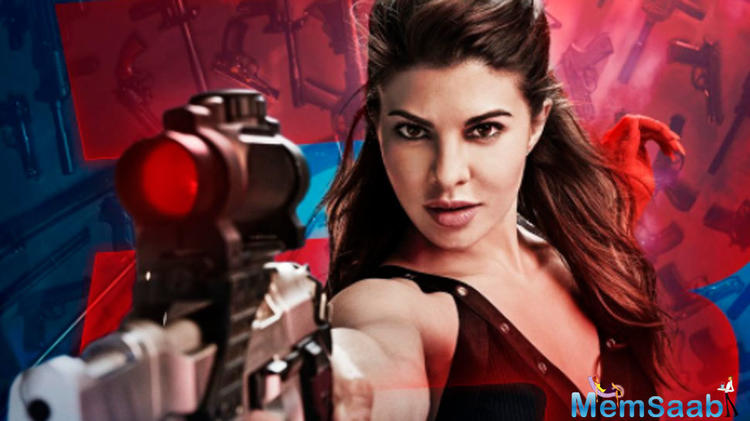 While the actress has earlier been part of action flicks, Jacqueline Fernandez never performed hand to hand combat, her sequences always included weapons.