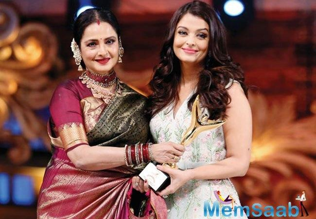 However, in a recent letter penned by Rekha, the enigmatic diva heaped praise on the 'moon-faced' Ash, and lauded her for 'rising like a phoenix' in the two decades of her movie career.