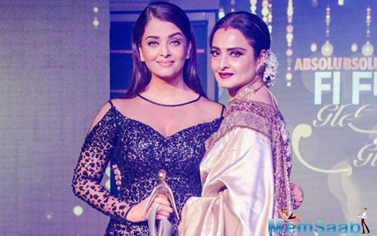 The latest sisterhood in Bollywood has all of the entertainment industry agog. We're talking about eternal diva Rekha, and one in the making Aishwarya Rai Bachchan.