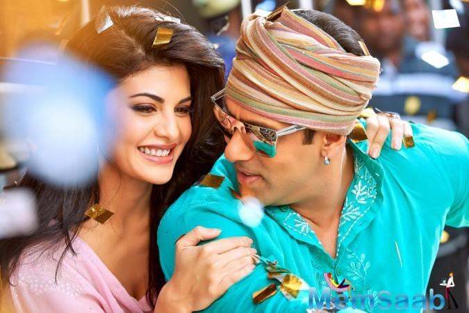 Salman Khan believes that Jacqueline Fernandez who has performed on the re-made version of