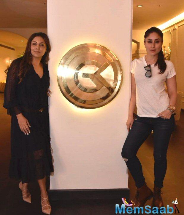 Gauri Khan Designs by the uber talented Gauri Khan hosted yet another special guest this Friday.