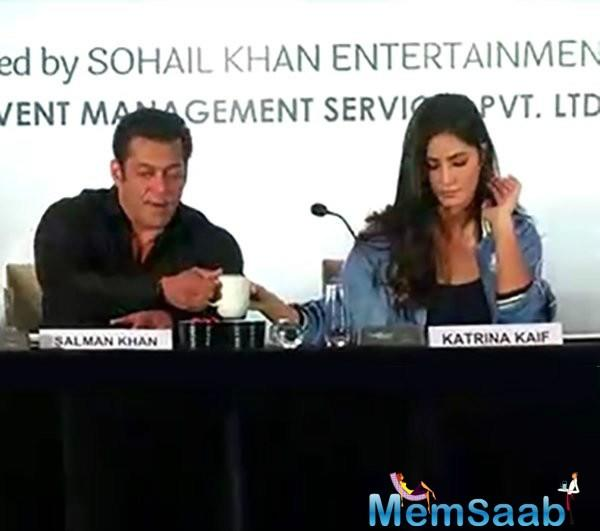 Salman Khan and Katrina Kaif were one of the most happening couples in Bollywood at one point in time.