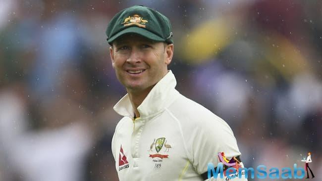 Clarke was Smith's predecessor, retiring in 2015 after playing 115 Tests.