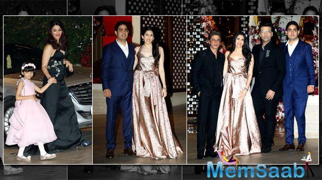 If reports are to be believed, it was Nita Ambani who specifically invited Aaradhya to the party.