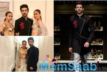 Kartik Aaryan recently walked the ramp with Kareena Kapoor Khan in Singapore for the designer Manish Malhotra.
