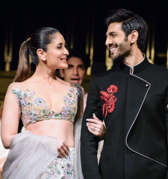 When asked about his experience on the ramp with Kareena, he revealed that he had a crush on her and also said walking with her in a Manish Malhotra creation was like a