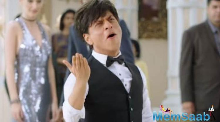 King Khan of Bollywood, Shah Rukh Khan, took to Twitter to pour over his happiness on working in 'Zero', starring Katrina Kaif and Anushka Sharma as well.