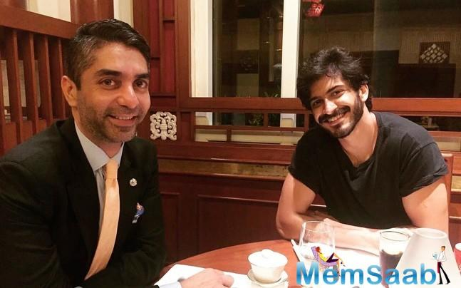 Having chosen a biopic for his third film, Harshvardhan Kapoor is aware that recreating Olympic gold medalist Abhinav Bindra's journey will be a tall order.