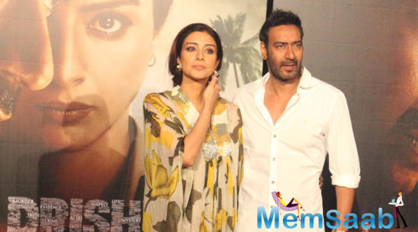 Of course, teaming up with her longtime friend Ajay Devgn was another incentive to sign the Dussehra 2018 release.