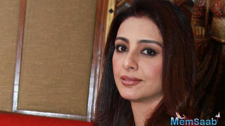 Known to be selective about her projects, it's not easy to get a nod of approval from Tabu.