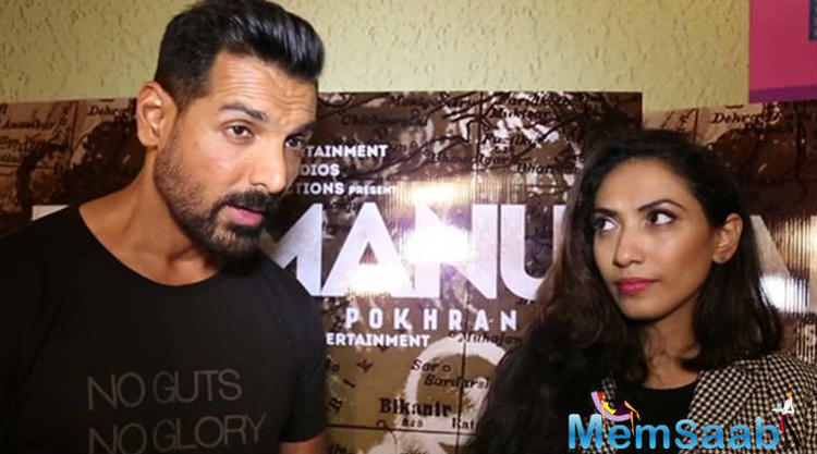 The war between Parmanu: The Story of Pokhran co-producers John Abraham and KriArj Entertainment's Prernaa Arora intensified over the weekend.