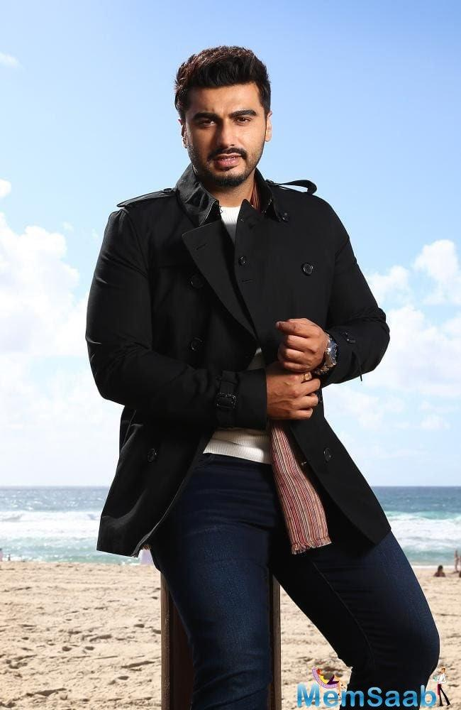 Arjun Kapoor winged his way to Australia for an endorsement deal.