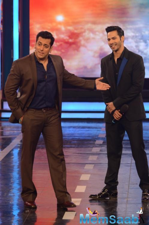 """Talking about Salman's recent jail and bail stint, Varun says, """"We were all looking forward for Salman to be set free, and were obviously happy about his homecoming."""