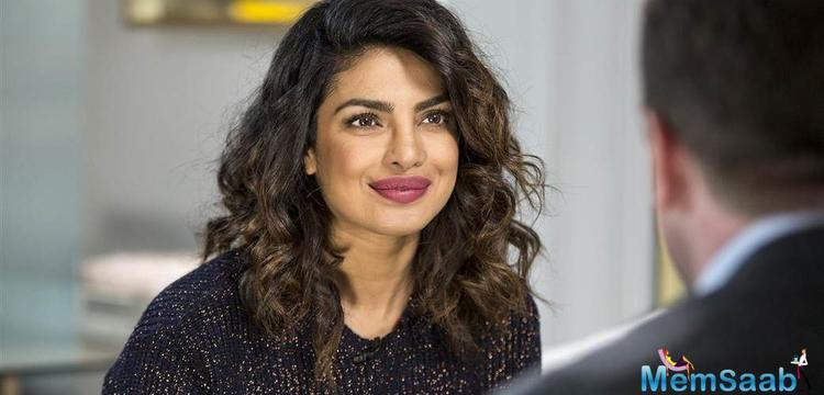 Priyanka Chopra undoubtedly is a global icon and is making India proud on the western shores.