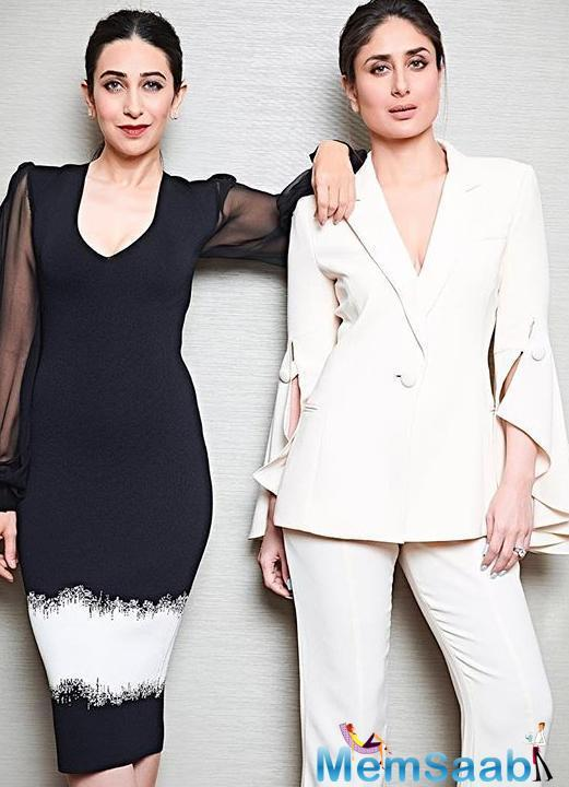 At another event recently, Karisma spoke about her sibling bond with Kareena.