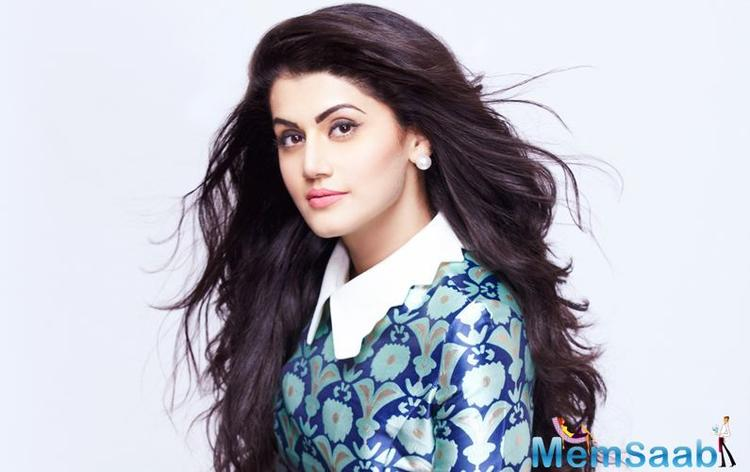 Taapsee Pannu also shared her excitement about Ghazi on Twitter. Ghazi or The Ghazi Attack is directed by Sankalp Reddy.