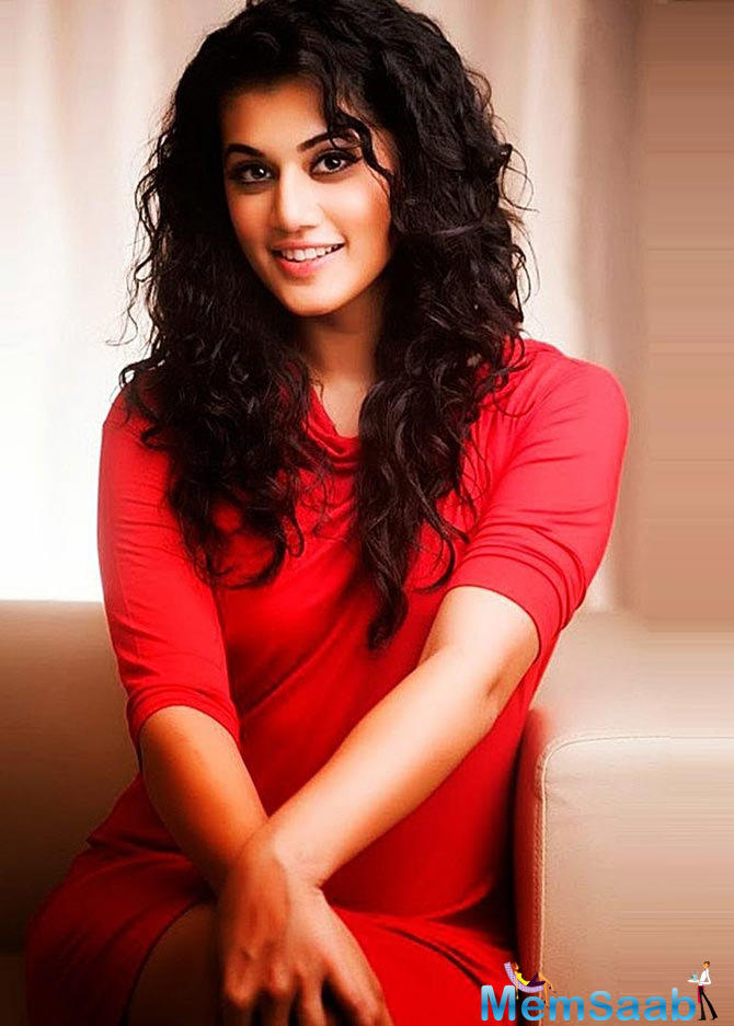 Taapsee Pannu is ecstatic that her film